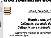 récompense pour Cicla71 Concours journaux scolaires