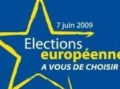 Elections européennes juin 2009 listes région Nord-Ouest