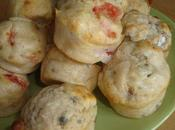 muffins salés pour l'apéritif roquefort noix tomates gruyère