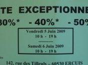 vente exceptionnelle chez Ercuis