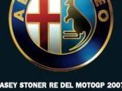 Casey Stoner Star avec Alfa Romeo