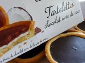 Tartelettes chocolat noir noix coco