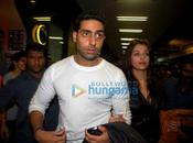 [PHOTOS] Abhishek, Ash, Sush Zayed leave IIFA Awards 2009