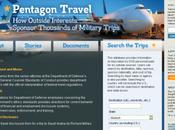 Pentagone voyages payés par... l'étranger