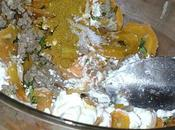 Petits ballotins carottes curry basilic champignons