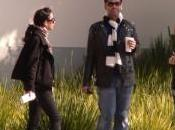 Photos tournage Name Khan avec Kajol