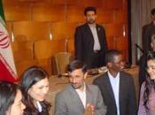 rencontre avec Mahmoud Ahmadinejad