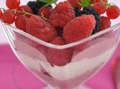 Panna cotta framboises autres fruits rouges