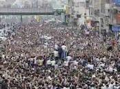 Téhéran contre l'interdit, fleuve humain