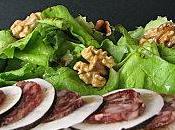Salade radis noir saucisson