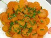Délicieuse salade carotte l'huile d'argan
