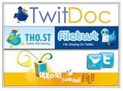 services pour partager fichiers Twitter