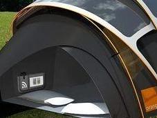 tente solaire Wi-Fi