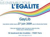 Gay-pride Paris char l'UMP-Gaylib attaqué