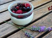 PANNA COTTA VANiLLE FRUiTS ROUGES