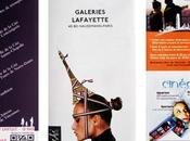 Nexence Atout Neuf ajoutent dimension mobile interactive Plan Paris édité Galeries Lafayette grâce code barre