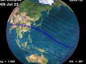 plus longue éclipse totale Soleil 21éme siècle juillet