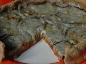 Tarte/pizza tomate&aubergine;, crème Saint Felix
