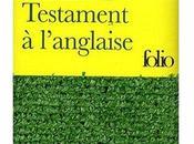 """Livre """"Testament l'anglaise"""", vrai petit joyau"""