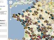 cartographie festivals l'été 2009