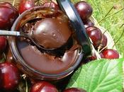 Pâte Tartiner Chéri Confiture Cerise Chocolat Noir