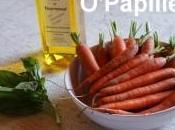 Jeunes carottes basilic