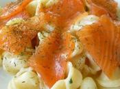 Orecchiette creme provolone saumon fume