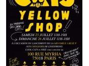 Banger Cool Cats Yellow Shop éphémère week-end Paris