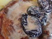 Côtes porc pruneaux
