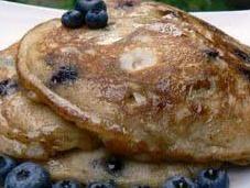 Pancakes bleuets cannelle
