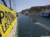 Rainbow Warrior Corse flottille pour protéger Bouches Bonifacio