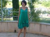 mésaventures petite robe verte