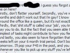 Facebook patron mauvais mélange…