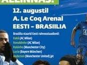 Estoniens ratent dans préparatifs match contre Brésil