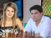 Sophie Milliet Vladislav Tkachiev championne champion France d'échecs 2009
