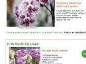 site orchidées Vacherot Lecoufle
