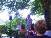 """""""Lectures sous l'arbre"""" Chambon-sur-Lignon(Haute-Loire) août 2009"""