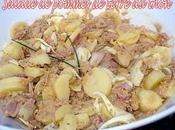 Salade pommes terre thon