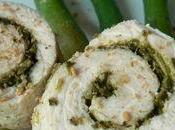 Blanc poulet roulés basilic