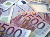 Euros dans poubelle