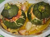 Courgettes rondes farcies!!