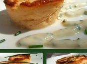 Petits gâteaux Saint-Jacques saumon, sauce ciboulette