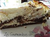 Mariage Heureux d'un Fondant Chocolat Cheesecake
