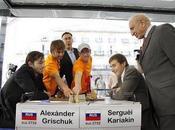 Master d'échecs Bilbao Karjakin sort grand