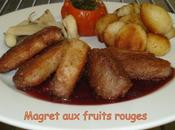 Magret fruits rouges