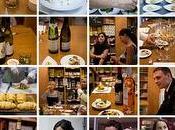 """""""Tout cours Cuisine Vins l'atelier chefs"""" """"mon premier contact avec d'autres blogueurs culinaires"""""""
