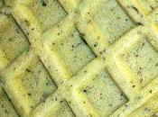 changement, rien changement!.. gaufres liégoises revisitées fromage blanc herbes! gourmandise salée rentrée...