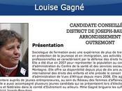 Louise Gagné, candidate pour Vision Montréal: Politique municipale, Montréal, Harel Benoît Labonté