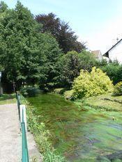 joli petit village d'Ajol (Vosges)