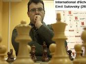 Etienne Bacrot Emil Sutovky, co-leaders l'Inventi Chess 2009 avec points